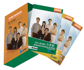 Mandarin learning DVD