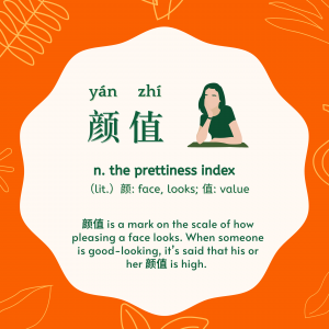 Chinese Buzzword: 颜值 (yánzhí) The Prettiness Index